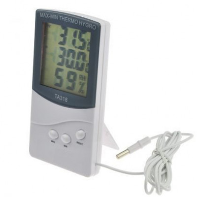 Digitalni Hygro Termometer Indoor-Outdoor