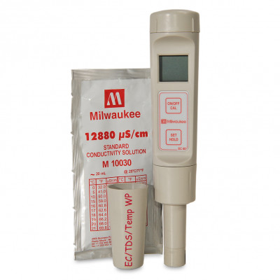 Milwaukee EC60 Pocket Size EC / TDS / Temp Meter