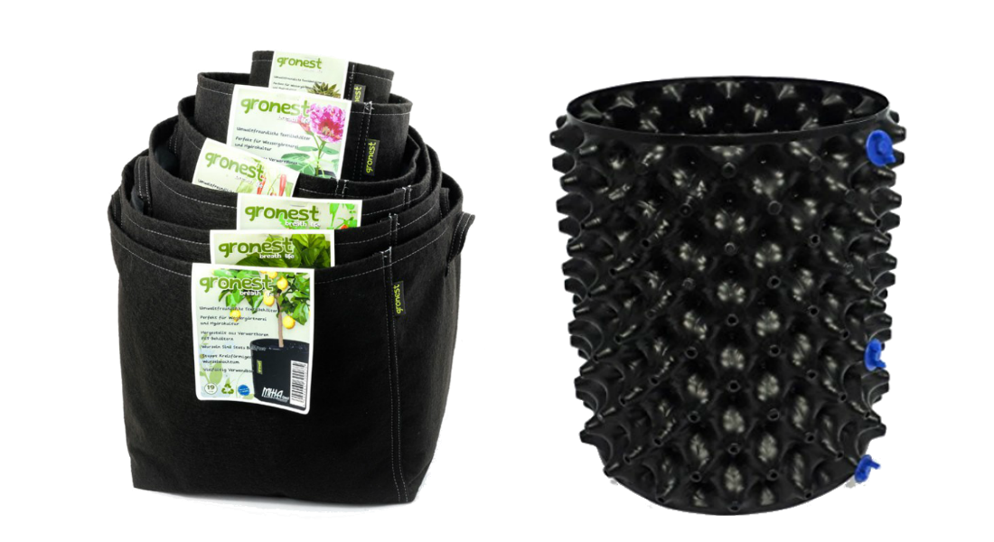 Vaze in lonci autopot za indoor gojenje